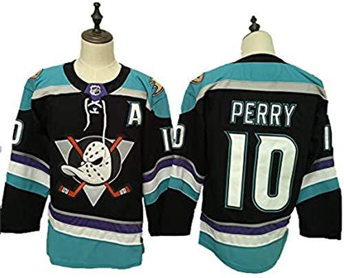 Mgcdd-Car Organizer Men's Sports Shirts & Tees,# 10 / # 17 New Jersey NHL Anaheim Ducks Puck Männer Langarm T-Shirt Sweatshirt Atmungsaktiv,Blau,M