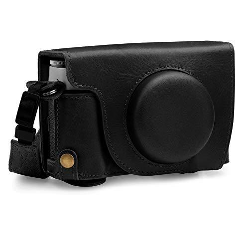 MegaGear EverReady MG1892 - Funda de Piel para cámara Fujifilm X100V, Color Negro