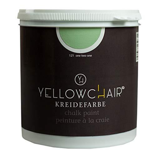 Kreidefarbe yellowchair No.121 salbeigrün ÖKO für Wände und Möbel 1 Liter