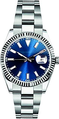 PARNIS by Collectors Club TW1009 Automatikuhr 316L-Edelstahl Armbanduhr Datumsanzeige Saphirglas 5BAR Wasserdicht
