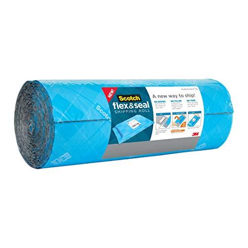 スコッチ フレックス アンド シール プチプチ 梱包材 ロール ガムテープ不要 380mm×6m FS-1520