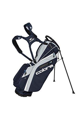 Cobra Golf 2018 Ultralight Stand Bag (Peacoat-High Risk Red-Bright White)