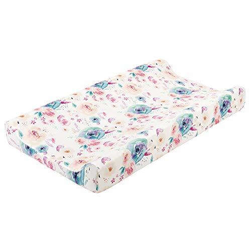 Asudaro Cambiador, manta cambiador, cubierta de almohadilla de cambio, suave y cómoda, se puede desmontar para la limpieza, adecuado para niños y niñas, 32 x 16 x 4 pulgadas #5