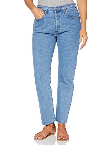 Levi's 501 Crop Jeans, Azul (Tango Beats), 23W / 26L para Mujer