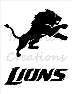 DETROIT LIONS Football Team 8.5