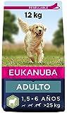 Eukanuba Alimento seco para perros adultos de razas grandes, rico en...