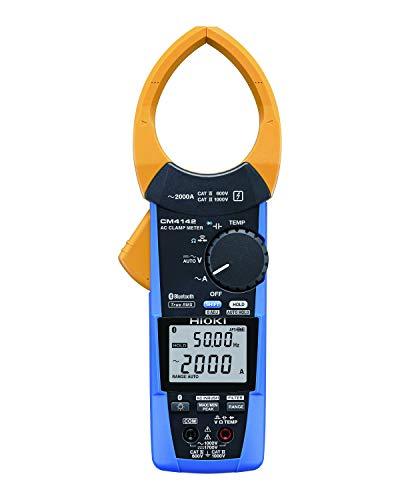 HIOKI(日置電機)ACクランプメータ(AC60~2000ABluetooth搭載)CM4142