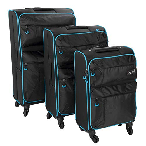 Kangol Unisex Superlight 1 Suitcase Set