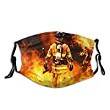KENADVI Face Cover Flying Drone Objects Flat Color Simple Icons Collection Balaclava Unisex Reusable Windproof Anti-Dust Mouth Bandanas Outdoor Camping Motorcycle Running Neck Gaiter with 2 Filters