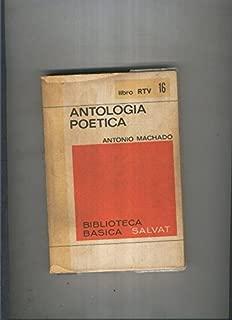 Biblioteca Basica Salvat libro RTV numero 016:Antologia poetica (numerado 1 en interior cubierta)