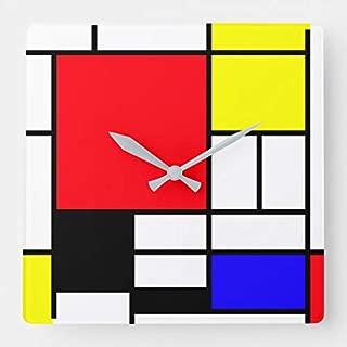 Best mondrian wall clock Reviews