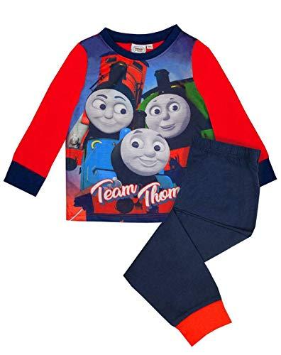 Pijama Oficial de Pijama de Manga Larga para niños Thomas The Tank Engine