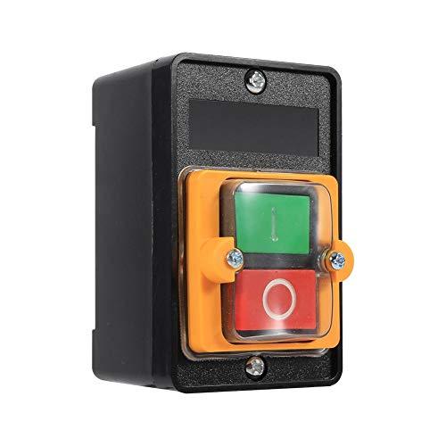 EBTOOLS Accesorios de Máquina Herramienta de Interruptor de Botón a Prueba de Agua ON/OFF 10A 380V