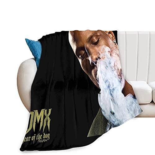 DMX - Manta de microfibra ultrasuave para sofá o cama, para aire acondicionado, manta antibolitas, franela suave y esponjosa de 150 x 100 cm