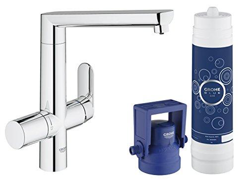 GROHE Blue K7 Pure Küchenarmatur mit Filterfunktion, L-Auslauf 31344001