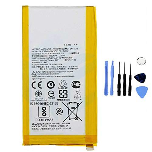 Ellenne Batteria Compatibile con Motorola Moto Z Play XT1635 GL40 Alta capacità 3510MAH con Kit SMONTAGGIO Incluso