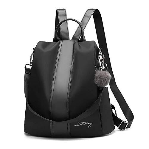 Litthing Bolsos Mochila para Mujer Antirrobo Bolsos Casual Bolsa Escolares Impermeable Bolso de Viaje Messenger Bag Backpack Daypack (M)