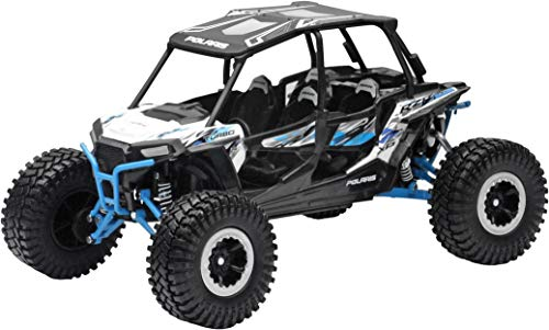 New-Ray 959-0124 Replica 1:18 Utv Polaris Rzr 4 Turbo Rc White