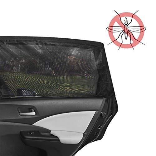 Zijramen mesh zonwering auto zijraam net zand parasol mesh doek raam muggen afdekking auto scherm anti-UV