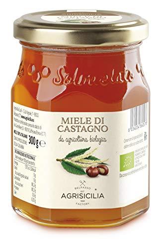 Agrisicilia Miele Di Castagno Da Agricoltura Biologica - 300 g