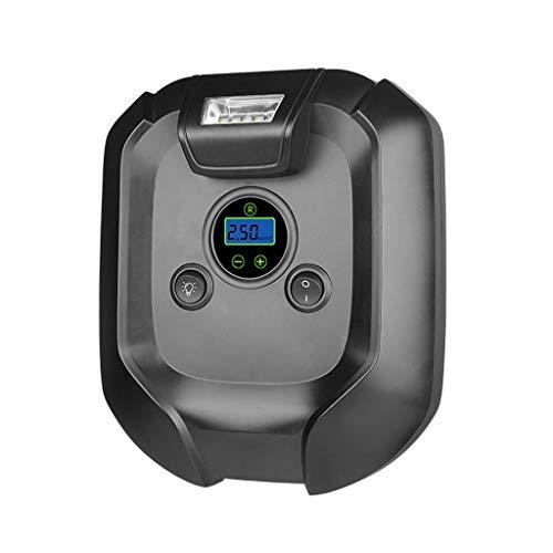 Autoluftpumpenkompressor Compresseur Portatif 12v intelligente digitale drahtlose elektrische Pumpe eingebaute Batterie Wiederaufladbare Automatische Luftkompressor for Auto-Motorrad-Fahrrad-Kugel GRS