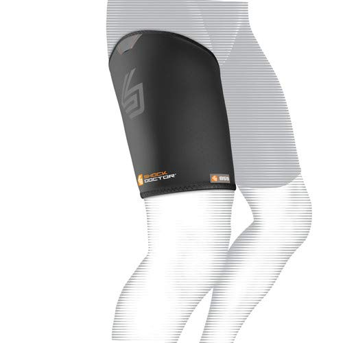 Shock Doctor Thigh-Groin Sleeve (Black, Medium)