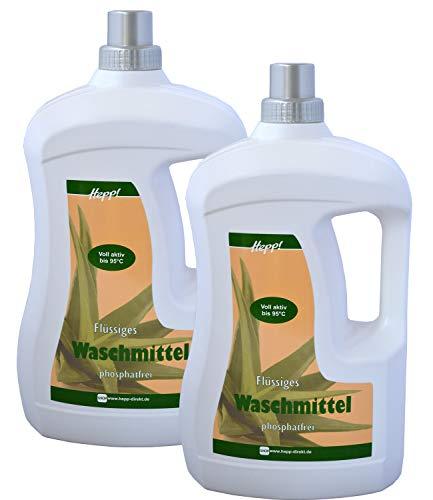 Hepp – Aloe Vera Waschmittel flüssig 6 Liter (2x3L)