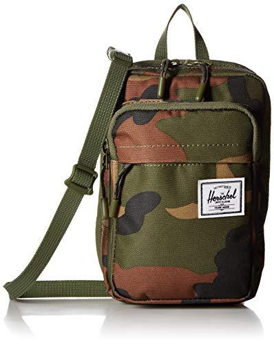 Herschel Form Cross Body Bag, Woodland Camo, Large
