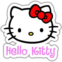 Hello Kitty Vynil Car Sticker Decal - Select Size