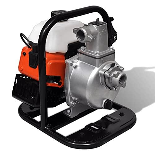 vidaXL Motobomba de Agua Gasolina 2 Tiempos 0.95L Herramienta Bomba Eléctrica