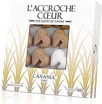 Canasuc 32 Zollette di Zucchero a Forma di Cuore - 1 x 120 Grammi