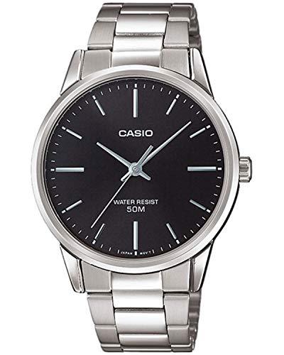Casio Reloj Analógico para Hombre de Cuarzo con Correa en Acero Inoxidable MTP-1303PD-1FVEF