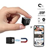 Spy Camera Wireless Hidden Camera Cop Spy Cam, Ehomful WiFi Mini Body...