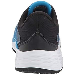 New Balance Men's Fresh Foam Evare V1 Running Shoe, Grey/Vision Blue, 15