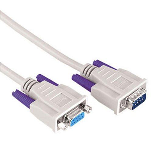 Hama Monochrom-Monitor-Kabel / Maus-Tastatur-Verlängerung (D-Sub-Stecker auf D-Sub-Kupplung) 3m