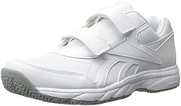 Reebok Men's Work N Cushion Kc 2.0 Walking Shoe, White/Flat Grey, 15 4E US