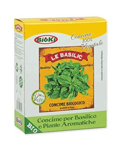 Le Basilic concime Biologico per Basilico ed Aromaiche