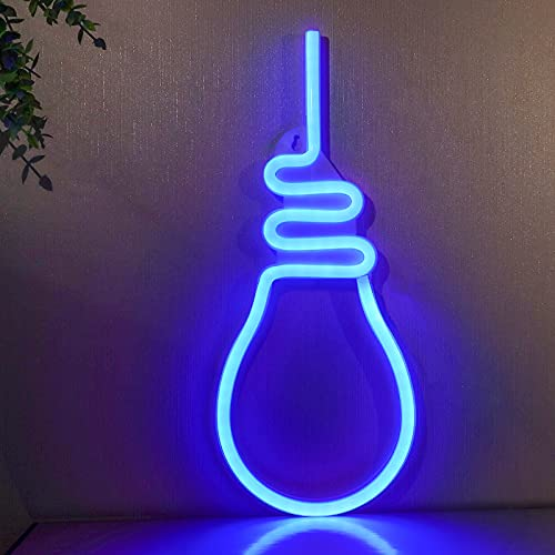 Neon Signs,ifreelife Bulb Neon Lights Trendy Room Decor Aesthetic Led Signs for Bedroom Wall Decoration Lighting Night Lights for Teen Girls Room Decor,Man Cave Stuff,Gaming Decor,Baby Nursery Room