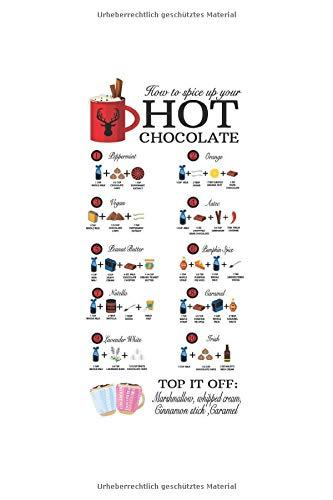 Diabetes Tagebuch: Kakao Heiße Schokolade Kaffee Karamel Süß Geschenk Typ 1 & Typ 2, 120 Seiten, 59 Wochen, 6X9 (Ca. A5), Blutzuckertagebuch, Hypertonietagebuch