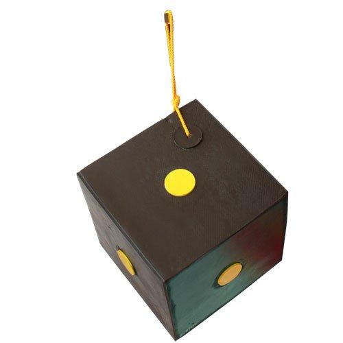 YATE Bogenschießen Schießwürfel Polimix Cube VAR 2 bis 50lbs Zielscheibe Würfel 30cm Indoor Outdoor Wetterfest mit Griff