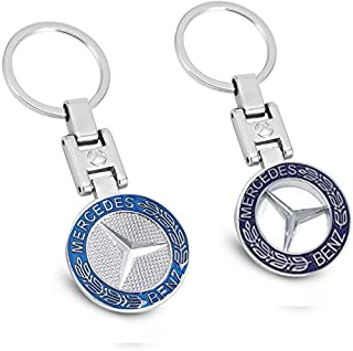 CARFORU New Car Key Chains Car Logo Key Chain Key Ring 3D Metal Emblem Pendant for Mercedes Benz Gift Birthday Present Gift for Men and Woman