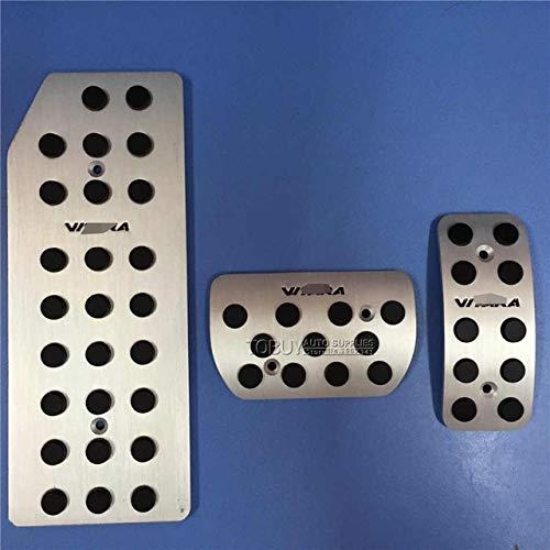 Armlehnen-Haltegriff Autozubehör Fit for SUZUKI VITARA MT/AT Accelerator Brems Fußablage Pedal-Auflage, automatisch/manuell Brenngas Plates Pads (Color Name : AT 3PCS)