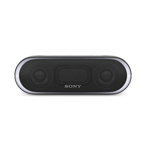 Sony SRS-XB20 Altoparlante Wireless Portatile, Extra Bass, Bluetooth, NFC, USB, Resistente all'Acqua IPX5, Nero