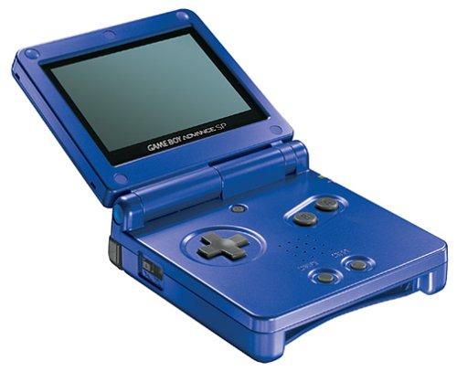 GameBoy Advance - Konsole GBA SP #blau