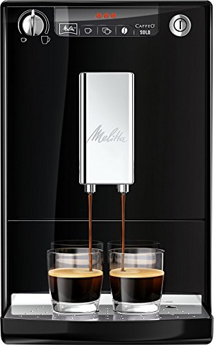 Melitta Caffeo Solo Bean to Cup Espresso Machine, Black