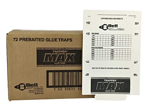 Trapper Max Free Mouse Glue Boards-12 Boards