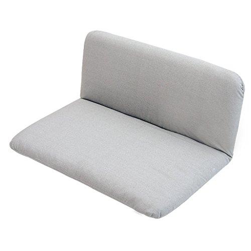 Lazy Sofa Fold Chair Chambre à coucher Living Room Fauteuil de loisirs -LI JING SHOP (Couleur : Gray)