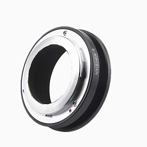 N/S-EOS R Objektivadapter Adapterring auf für Nikon S/Contax RF(Außenbajonett) Entfernungsmesser Objektiv Kompatibel für Canon EOS R-Mount Kamera Canon EOS RF RP, Nikon S to EOS R Lens Adapter