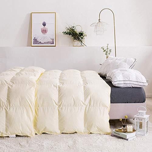 JKCTOPHOME Bettdecke Baumwolle Winter,Herbst und Winterhaus drinnen verdickte Wärme Baumwolle gedrehte Bettdecke-D_180 * 220cm-3kg,Daunendecke