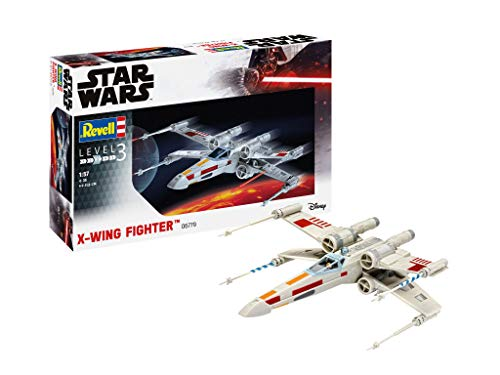 Revell- Star Wars X-Wing Fighter Kit Modello, Color Plateado